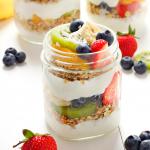Tropical Fruit Breakfast Parfaits