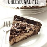 No Bake Oreo Cheesecake Pie