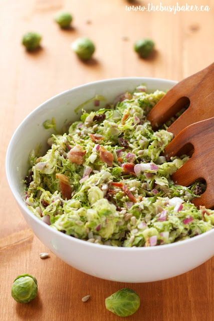 http://www.thebusybaker.ca/2015/12/brussels-sprouts-salad-with-creamy-bacon-dressing.html