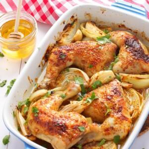 Honey Mustard Glazed Chicken