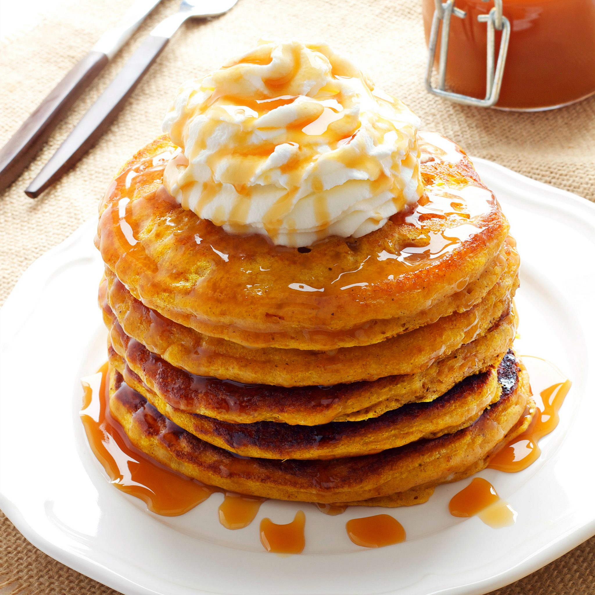 pumpkin spice pancakes the busy baker