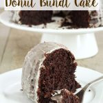 Glazed Chocolate Donut Bundt Cake