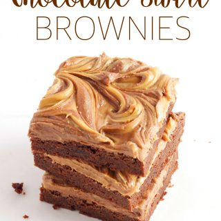 Peanut Butter Chocolate Swirl Brownies