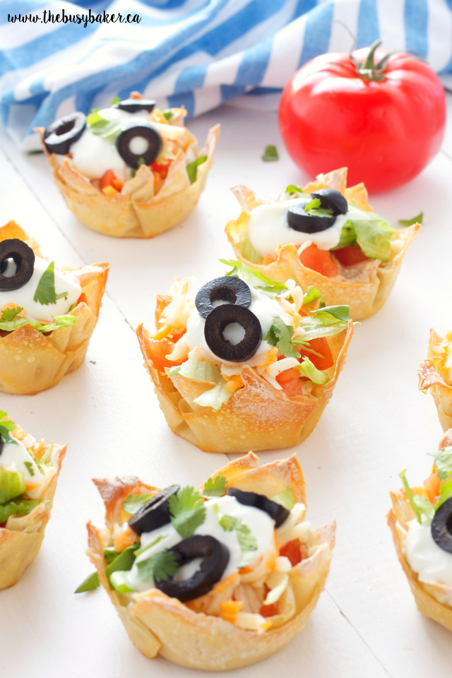 http://www.thebusybaker.ca/2016/05/mexican-taco-dip-wonton-cups.html