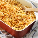 Oven Roasted Pizza Popcorn