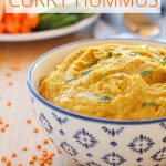Red Lentil Curry Hummus