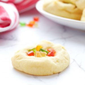 Whipped Shortbread Holiday Cookies (Christmas)