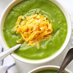 Healthy 3-Ingredient Broccoli Soup