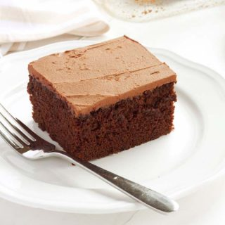 Best Ever One Bowl Chocolate Cake