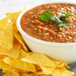 Easy Restaurant Style Blender Salsa