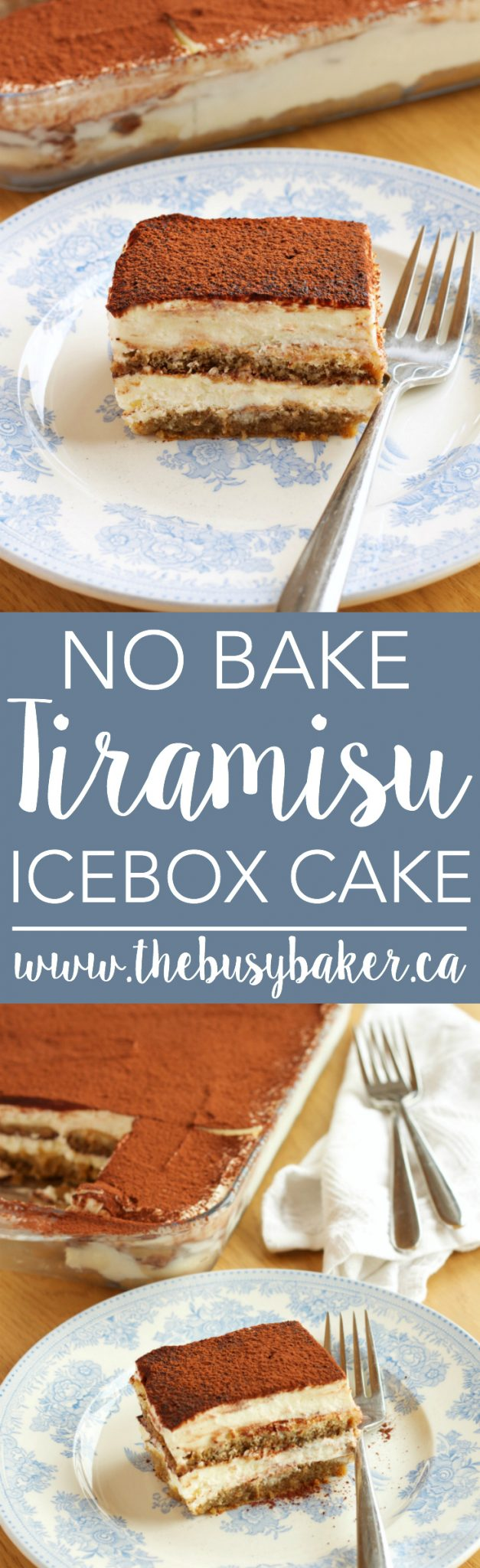 how to make tiramisu cake without oven