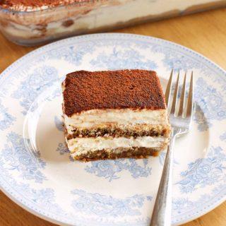 No Bake Tiramisu Icebox Cake