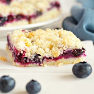 Best Ever Blueberry Crumb Bars