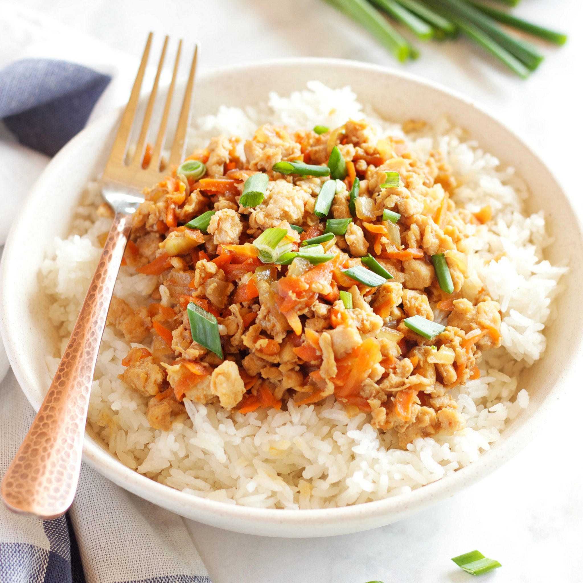 easy teriyaki chicken rice bowls the busy baker