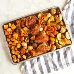 Paprika Chicken Sheet Pan Dinner
