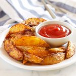 Crispy Barbecue Potato Wedges