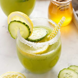 Healthy Cucumber Lemonade