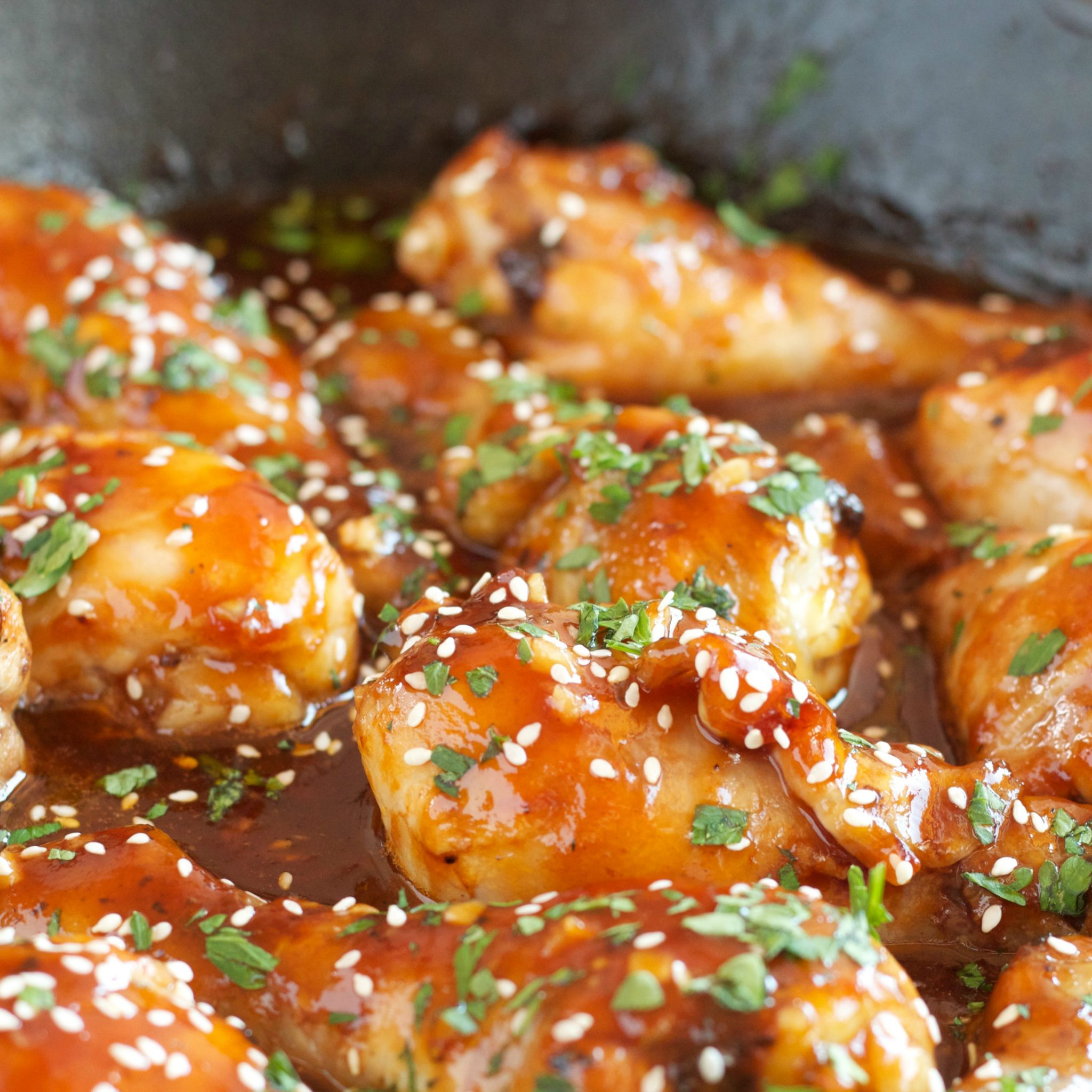 Honey-Soy Skillet Chicken picture
