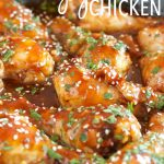 Easy One Pan Honey Garlic Chicken