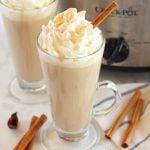 Slow Cooker Pumpkin Spice Latte (Crock Pot)