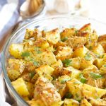 Garlic Parmesan Oven Roasted Potatoes