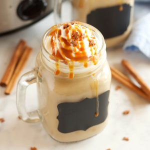 Slow Cooker Gingerbread Latte (Starbucks Copycat)