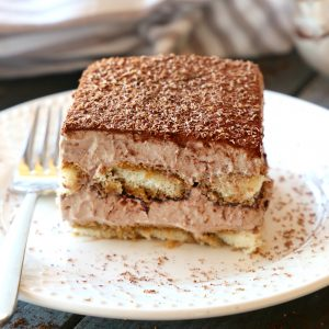 Chocolate Mocha Tiramisu Icebox Cake