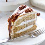 Classic Caramel Pecan Schmoo Torte