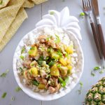 Pineapple Chicken Rice Bowls