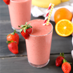 Strawberry Banana Orange Power Smoothie