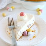 Easy No Bake Mini Eggs Cheesecake