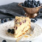 Best Ever Blueberry Ricotta Coffee Cake