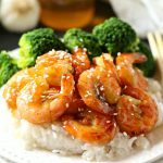 Easy One Pan Honey Garlic Shrimp