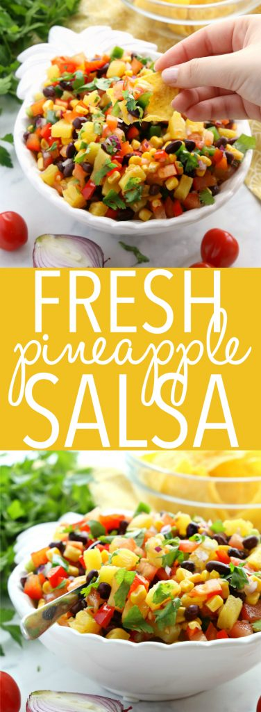Fresh Pineapple Salsa Pinterest