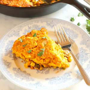 Turkey Sweet Potato Shepherd's Pie