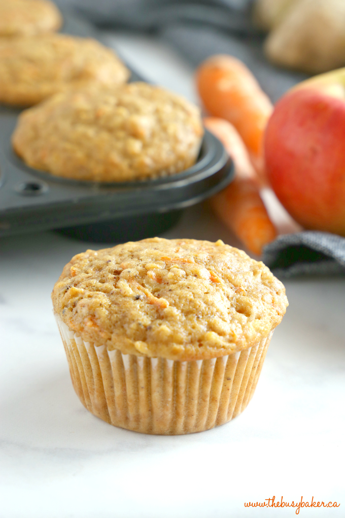 one Apple Carrot Ginger Muffin