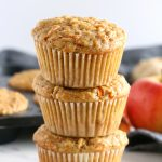 Apple Carrot Ginger Muffins