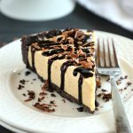 Frozen Chocolate Peanut Butter Cheesecake Pie