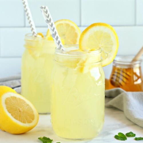 Healthy 3,Ingredient Lemonade