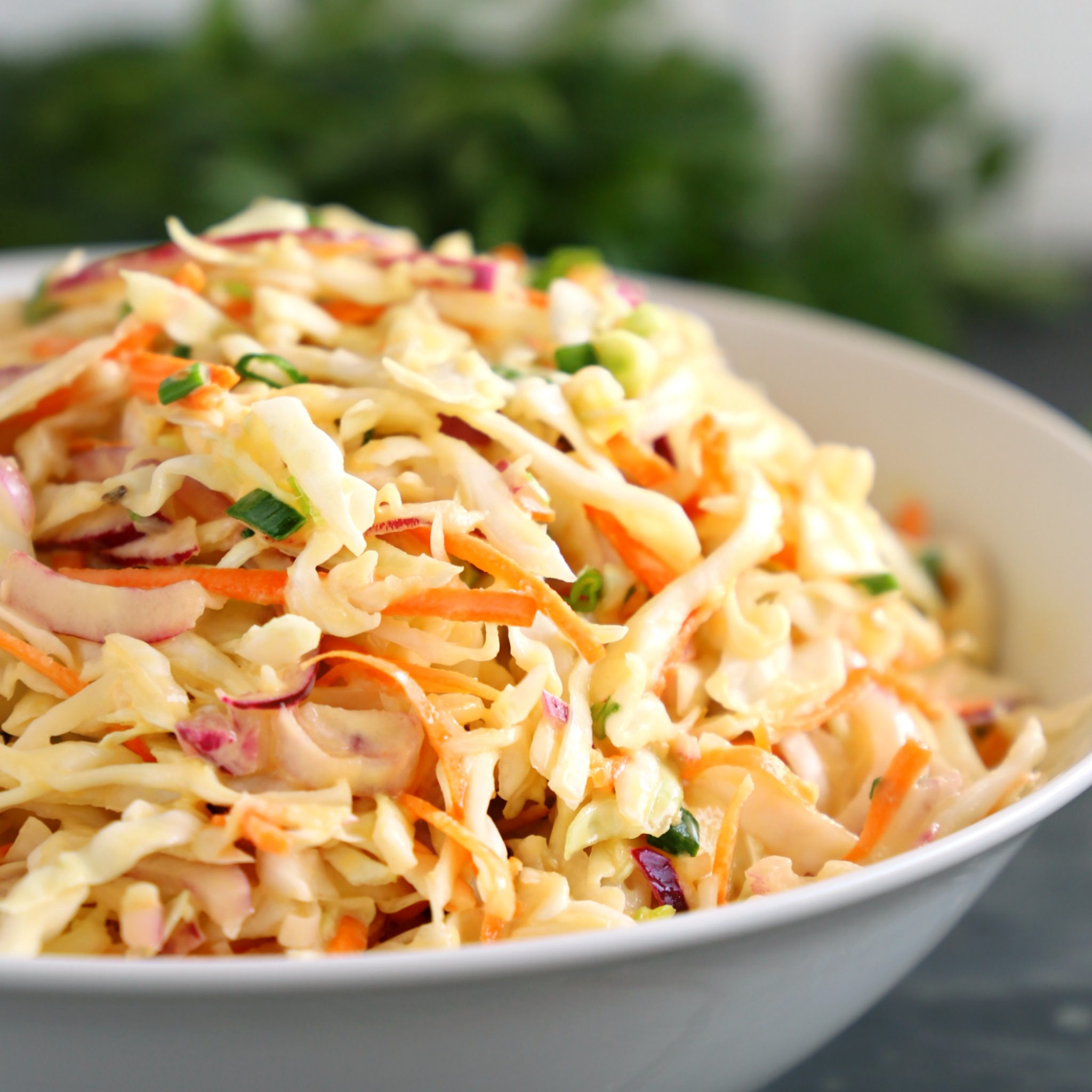 Best Ever Creamy Coleslaw {Easy To Make!}