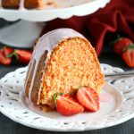 Best Ever Strawberry Pudding Cake