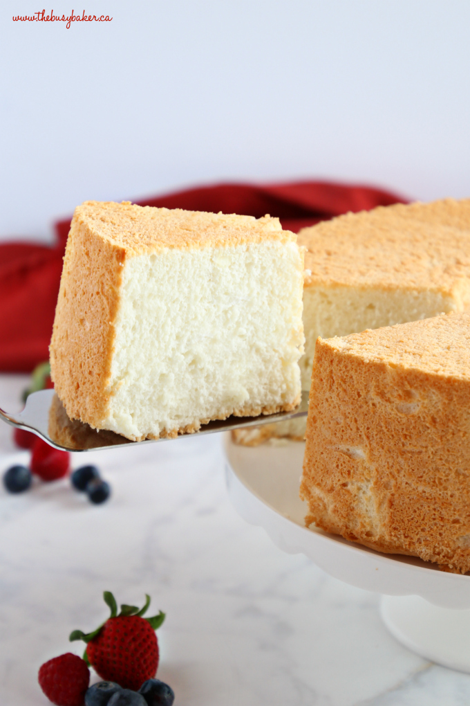 Angel Food Cake Have Dairy