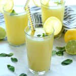 Healthy Sparkling Mojito Lemonade
