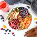 Orange Berry Pomegranate Superfood Salad