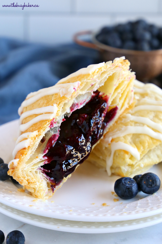 Best Ever Blueberry Hand Pies with blueberry filling