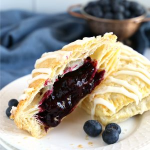 Best Ever Blueberry Hand Pies