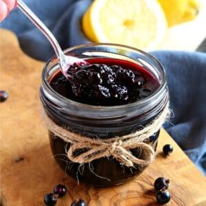 Best Ever Black Currant Jam (No Pectin)