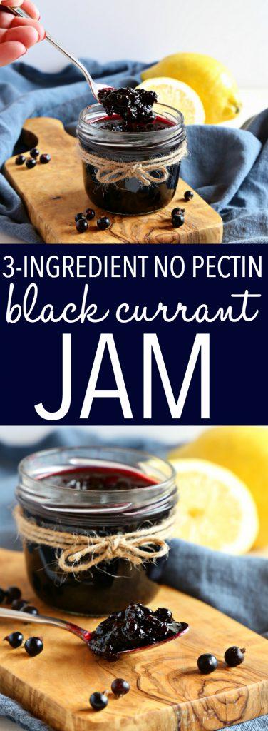 Best Ever Black Currant Jam Pinterest