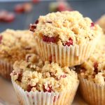 Best Ever Rhubarb Streusel Muffins