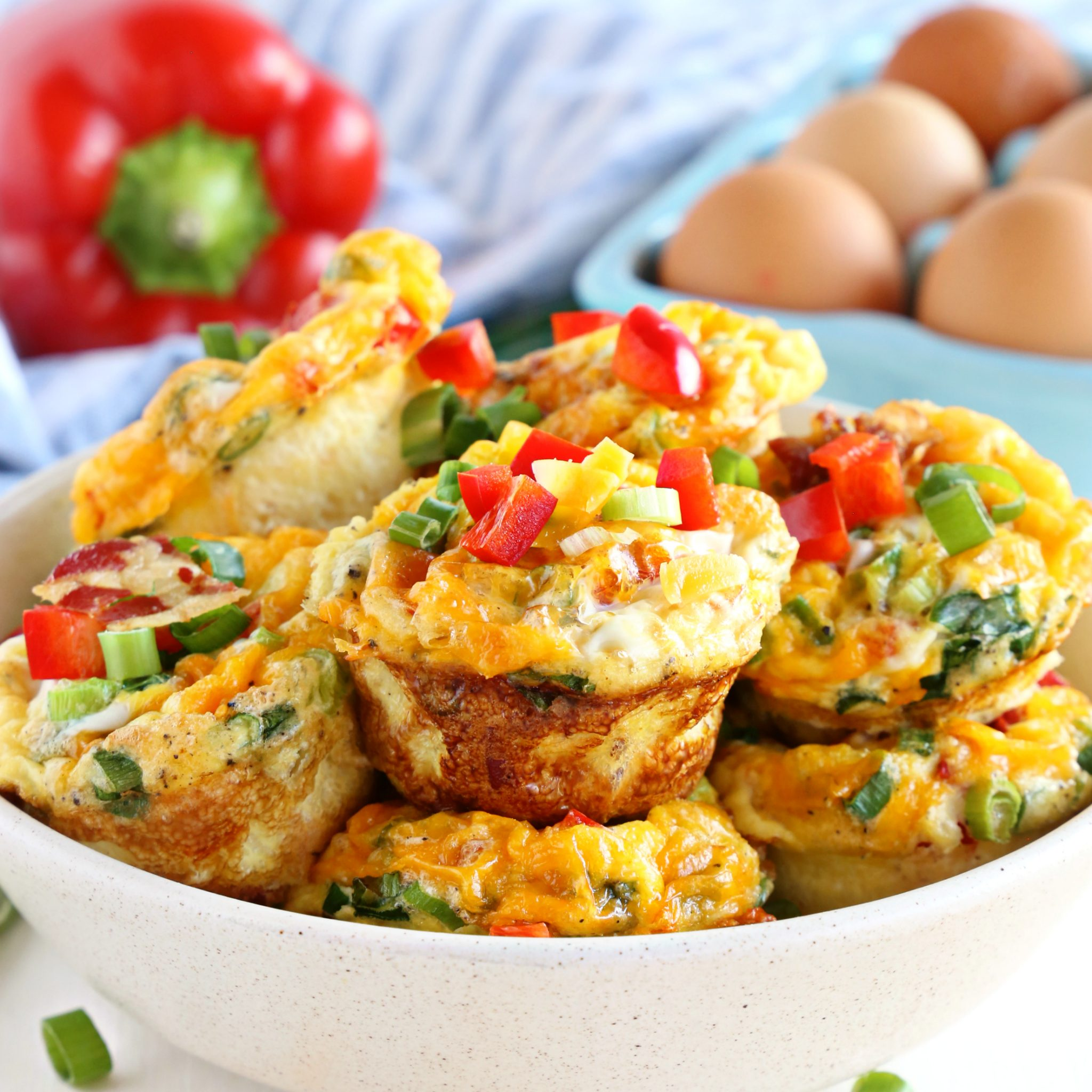 Bacon And Egg Breakfast Muffins Meal Prep Recipe The Busy Baker